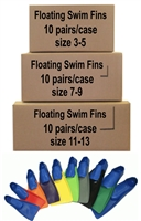 Swimzee.com - Case of Tritan Floating Swim Fins (10 Pairs)