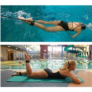 Swimzee.com - StrechCordz® with Leg Straps